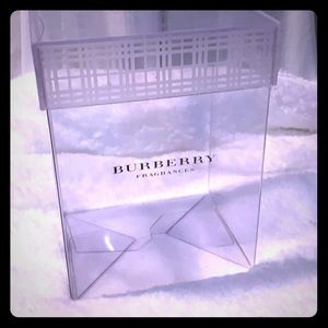 Clear decorate box